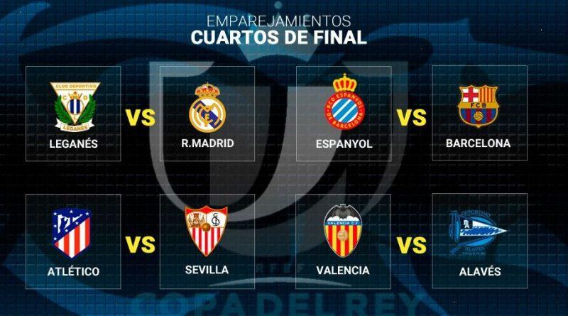 Cuartos Copa del Rey 2018
