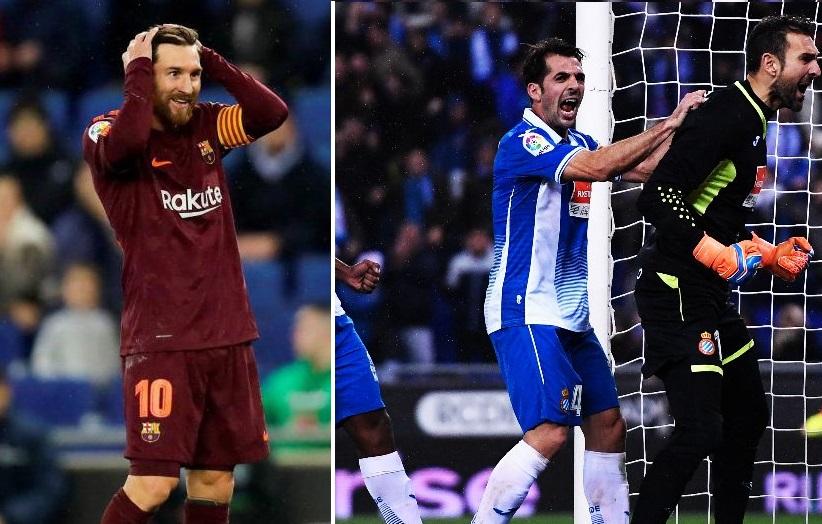 Espanyol 1-0 Barcelona Cuartos Copa del Rey