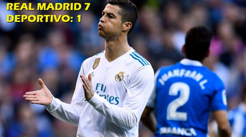 Real Madrid 7-1 Deportivo