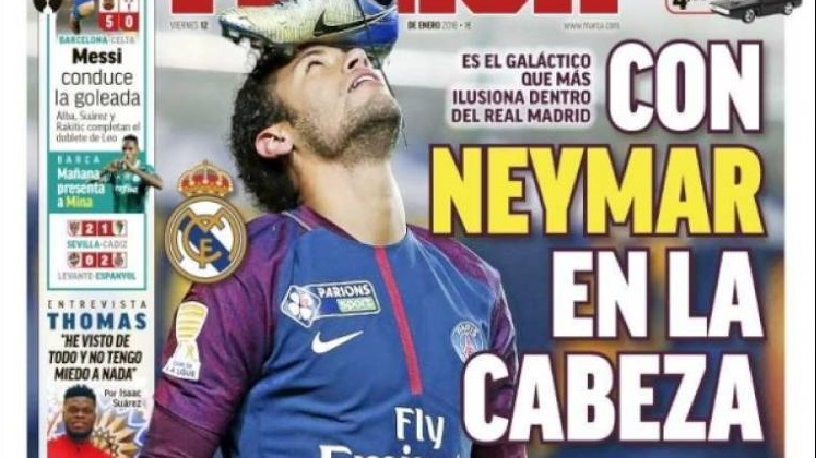 El Madrid con Neymar en la cabeza