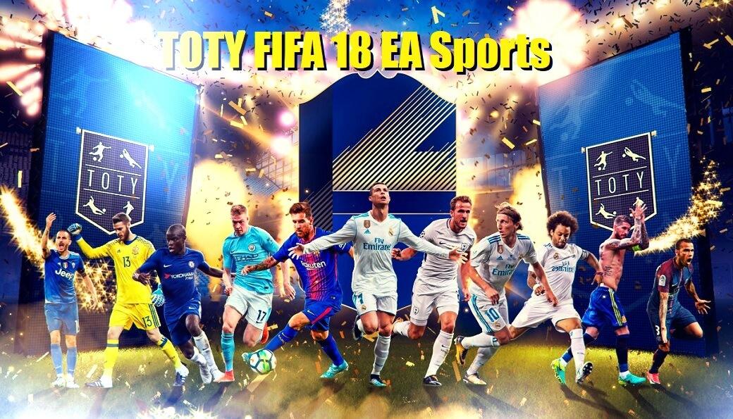 TOTY FIFA 18 EA Sports