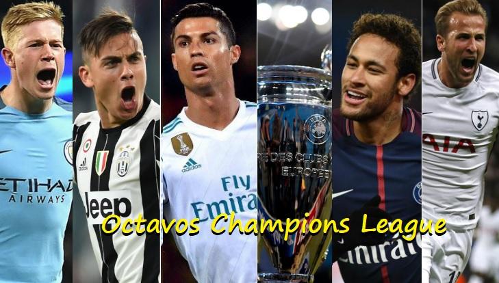 Alineaciones Octavos Champions 2018