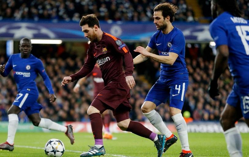 Chelsea 1-1 Barcelona Octavos Champions 2018 | Ida