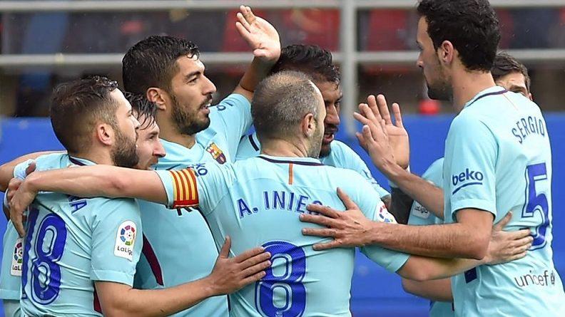 Eibar 0-2 Barcelona Jornada 24