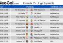 Jornada 25 Liga Española 2018