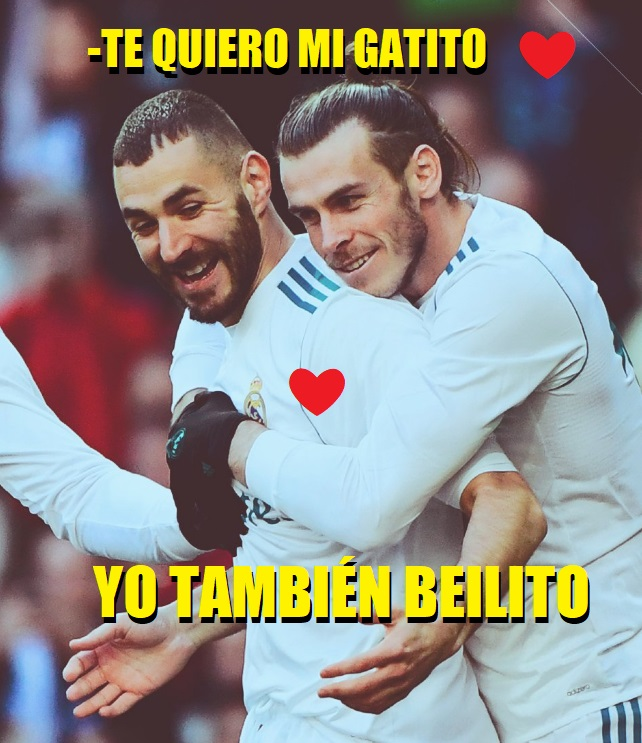 MEMES REAL MADRID ALAVES BALE BENZEMA TE QUIERO