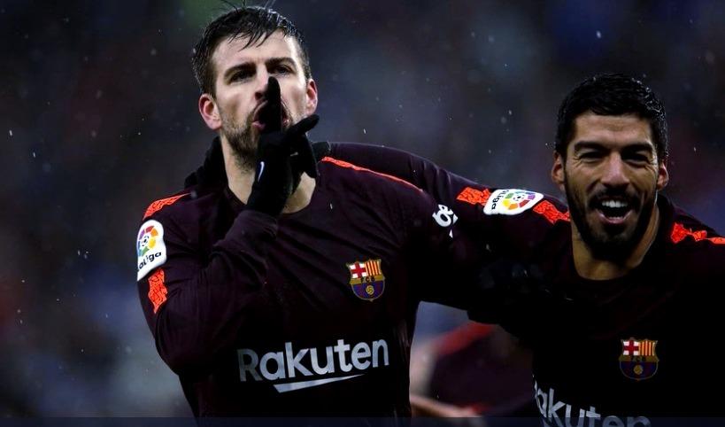 Espanyol 1-1 Barcelona Jornada 22