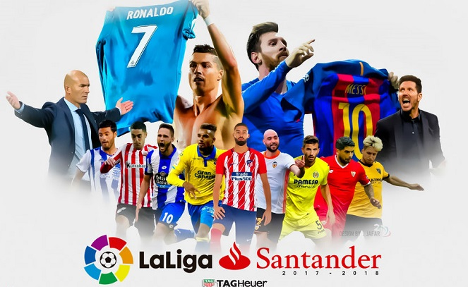 posiciones Liga Española 2018