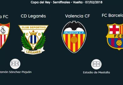 Semifinales Copa del Rey 2018 vuelta