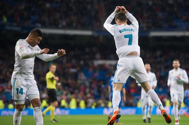 Real Madrid 3-1 Getafe Jornada 27