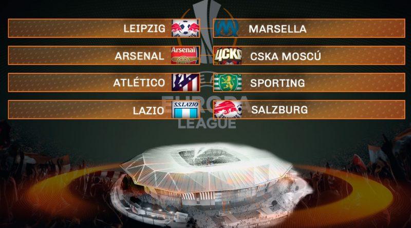 Cuartos Europa League 2018