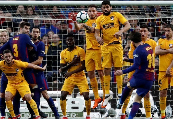 Barcelona 1-0 Atlético Madrid Jornada 27