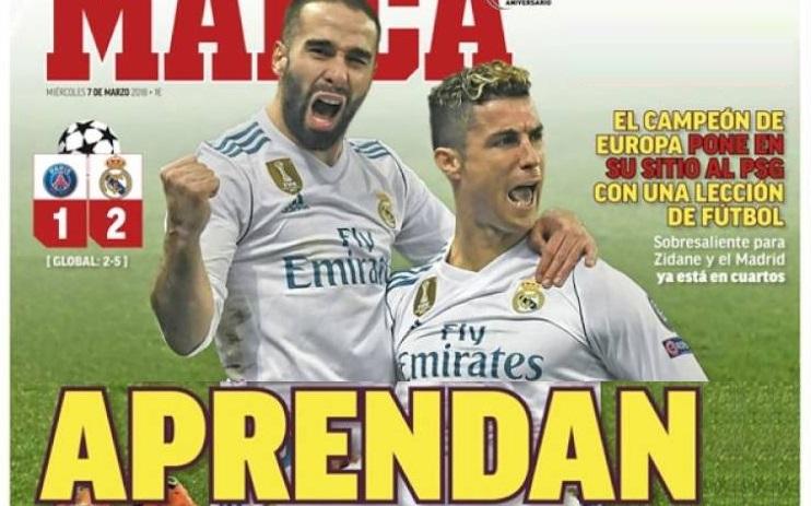 Madrid liquida al PSG