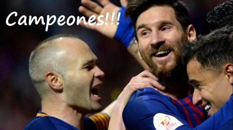 Barcelona Campeón Copa del Rey 2018