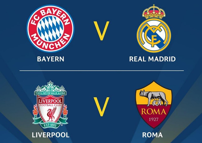 Semifinales Champions League 2018