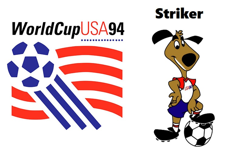 Logo y mascota del Mundial USA 1994:Striker