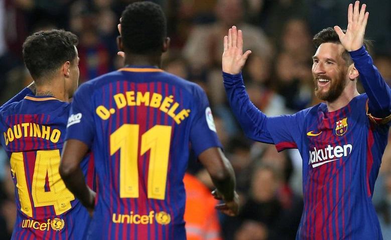 Barcelona 3-1 Leganés Jornada 31