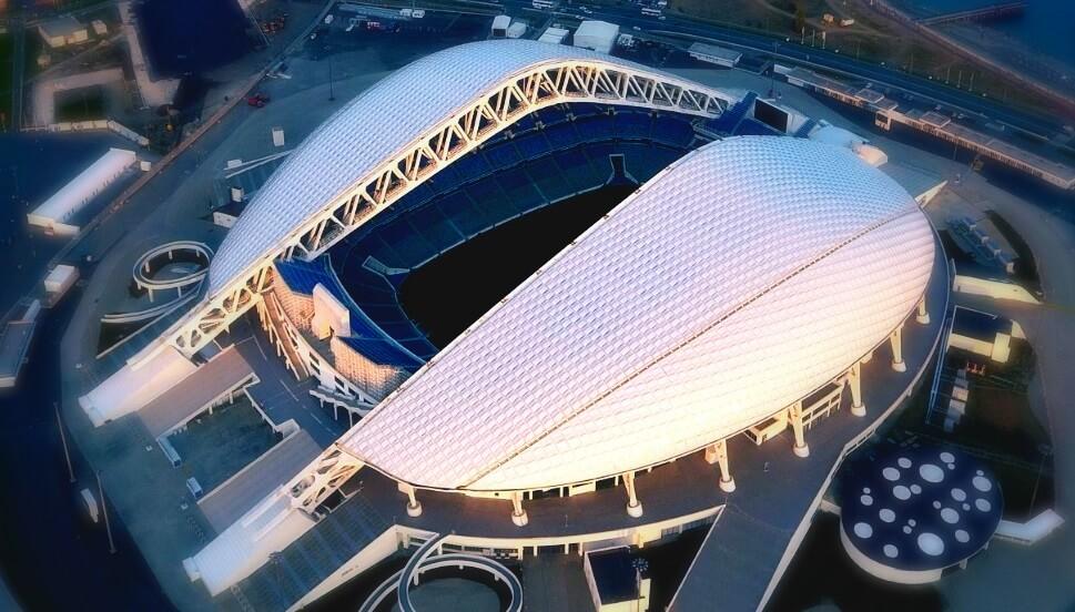 Estadio Fisht (Sochi) Sede Mundial Rusia 2018
