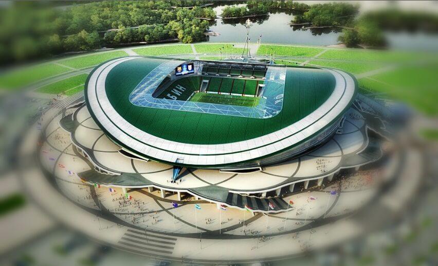 Estadio Kazán Arena Sede Mundial Rusia 2018