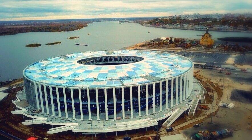 Estadio Nizhni Nóvgorod Mundial Rusia 2018
