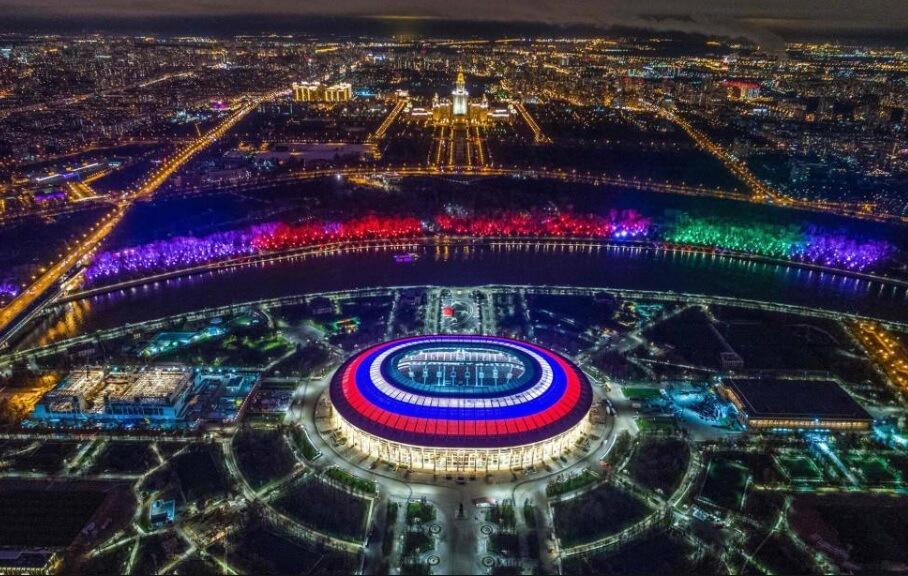 Estadio Luzhniki Sede Mundial Rusia 2018