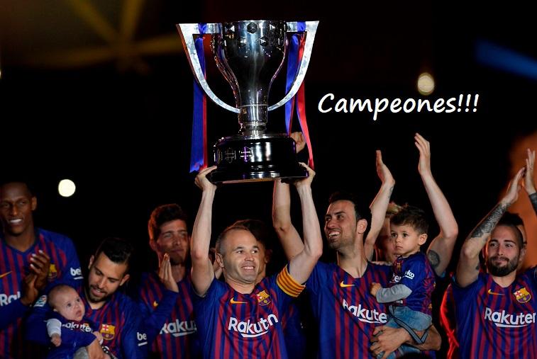 afe74205f25e0 Posiciones definitivas Liga Española 2017-2018
