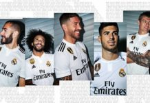 Camiseta Real Madrid 2018