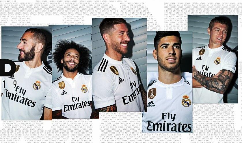 de9af5aec1ecb Camiseta Real Madrid 2018-2019