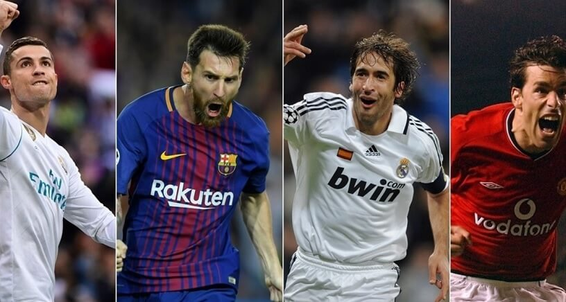 Máximos Goleadores Históricos de la Champions League