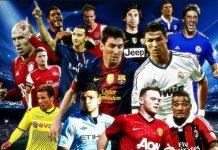 Los 100 mejores jugadores de la Champions