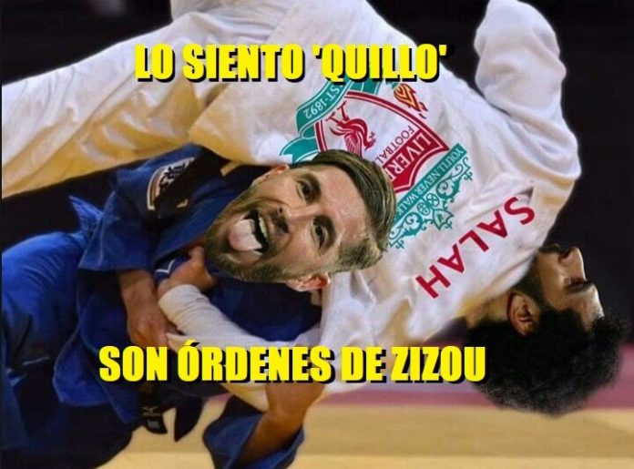 Memes Real Madrid-Liverpool Champions 2018