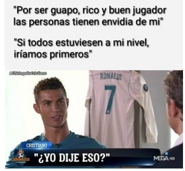 Memes final Champions 2018 cristiano ronaldo