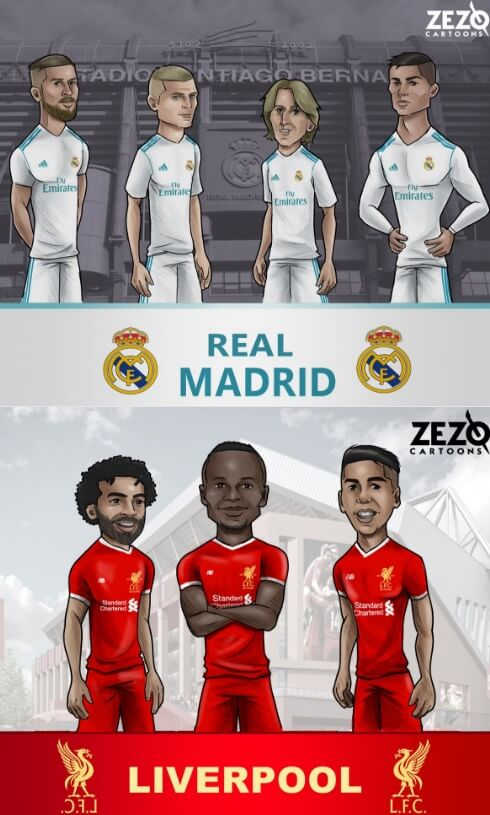 Memes final Champions 2018 liverpool madrid
