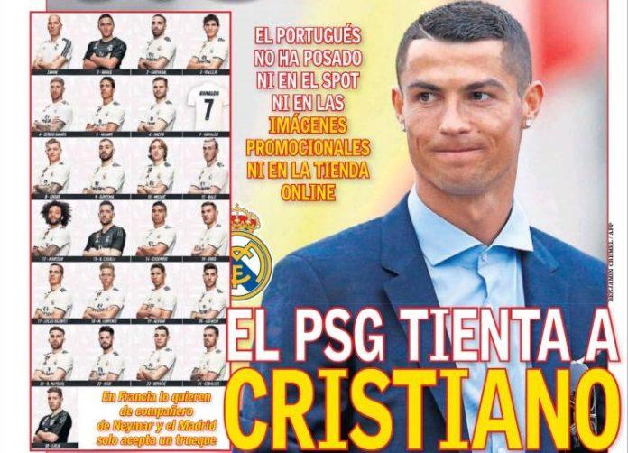 El PSG tienta a Cristiano
