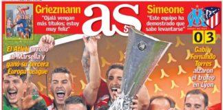 Tercera Europa League para el Atlético