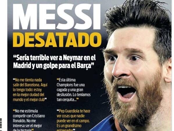 Messi no quiere a Neymar en el Madrid