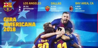 Pretemporada Barcelona 2018