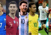 Ranking FIFA Mayo 2018