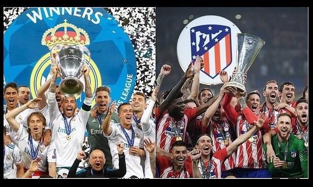 Real Madrid vs. Atlético Supercopa de Europa 2018