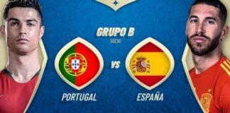 Alineación España-Portugal Mundial Rusia
