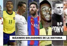 Máximos goleadores de la historia