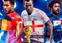 Alineaciones Mundial Rusia jornada 5