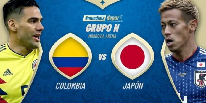 Alineaciones Colombia-Japon mundial rusia