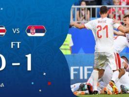 Costa Rica 0-1 Serbia Mundial Rusia