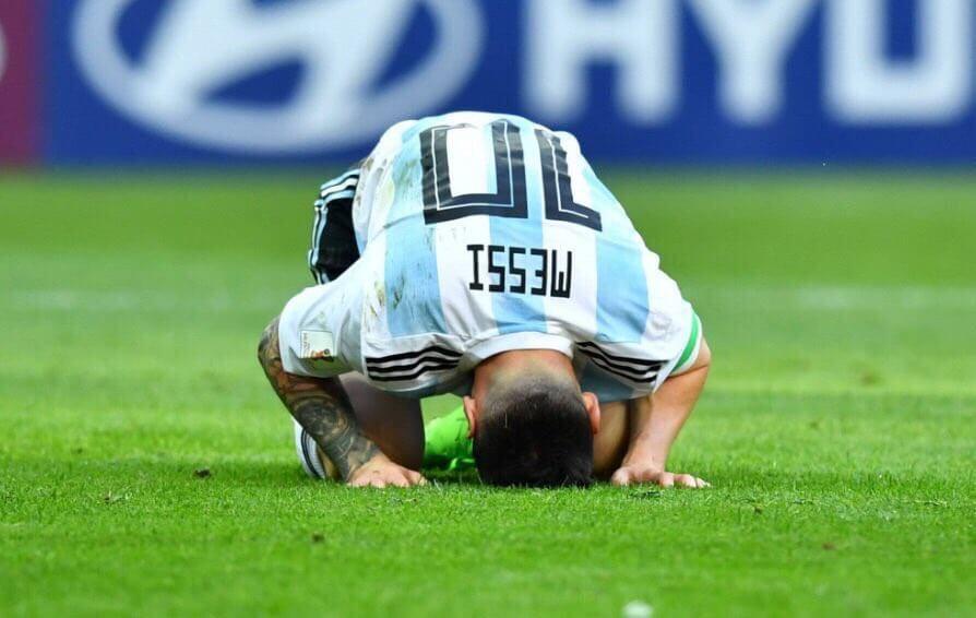 Messi eliminado del mundial argentina francia