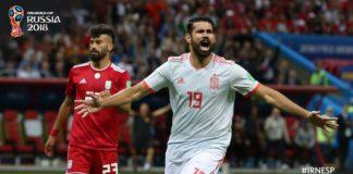 Irán 0-1 España Mundial Rusia