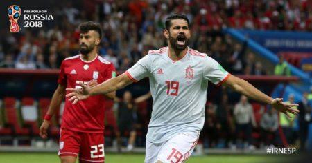 Irán 0-1 España Mundial Rusia 2018   Grupo B. FIFA World Cup