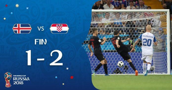 Islandia 1-2 Croacia Mundial Rusia