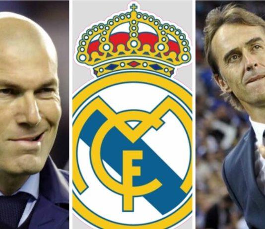 Julen Lopetegui DT del Real Madrid