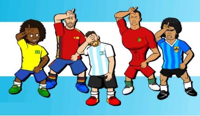 Memes Argentina-Croacia mundial rusia